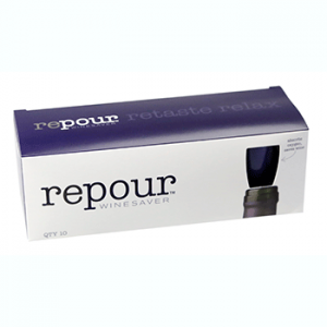 box of 10 Repour wine savers